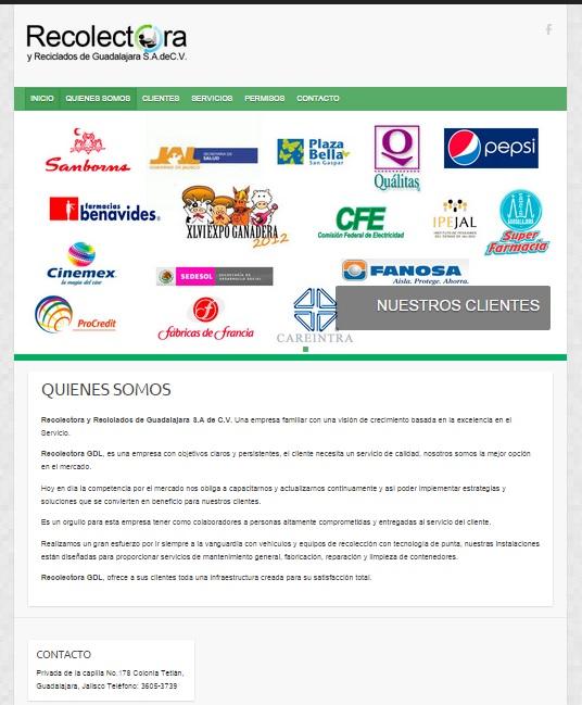 RECOLECTORA DE GUADALAJARA